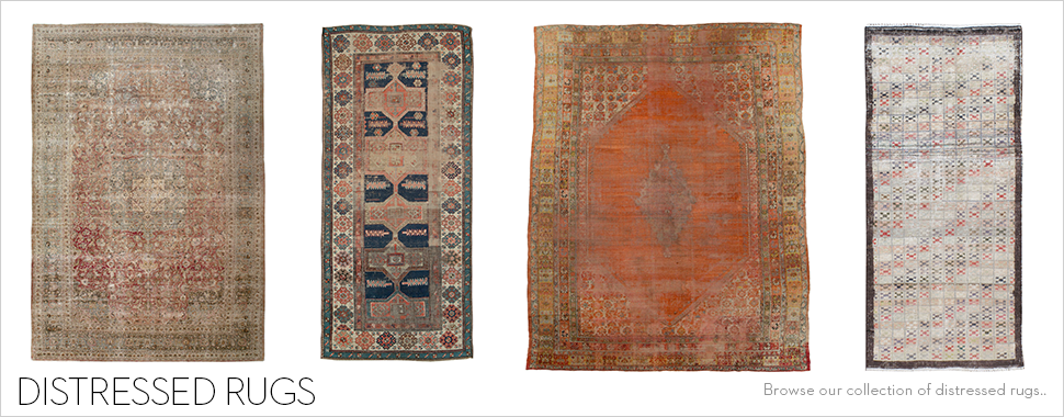 Distressed Rugs