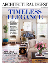 Architectural Digest - Sept. 2012